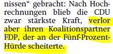 FDP Raus