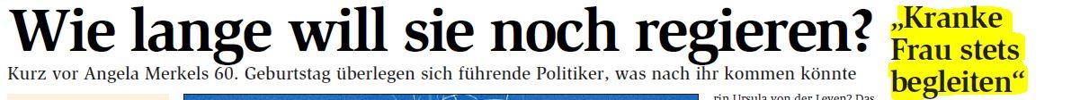Die rechte Überschrift bezieht sich auf ein Zitat des EKD-Ratsvorsitzenden Präses Nikolaus Schneider